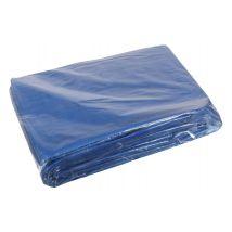 Dekkleed PE 4 x 6 meter standard 150 gr/m² - blauw