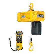 Elektrische Kettingtakel BDN 230V met Afstandsbediening - Werklast en Hijshoogte naar keuze