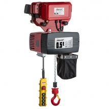 Elektrische Kettingtakel DEH 400V met Elektrische Loopkat - Werklast en Hijshoogte naar keuze