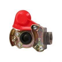 Koppelstuk open rood M22