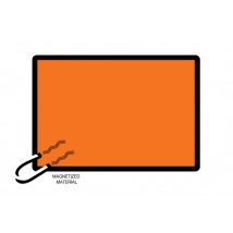 ADR bord 400 x 300 mm Magnetisch