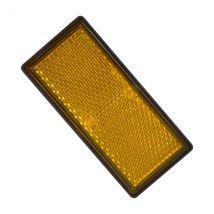 Reflector Rechthoek 86 x 40 mm Oranje