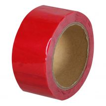 Security Tape Budget 50 mm x 50 meter rood