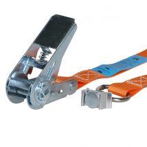 Spanband 25 mm 0,8 ton met spanoogfitting - Kleur en lengte naar keuze