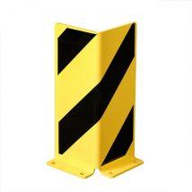 Stellingbescherming L-profiel geel/zwart