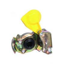 Luchtspiraal koppeling M16 geel automaat Wabco