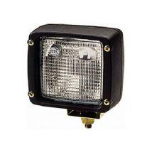 Werklamp halogeen vierkant Hella Ultra Beam met AMP stekker
